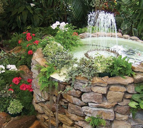 Dams, garden ponds & water features