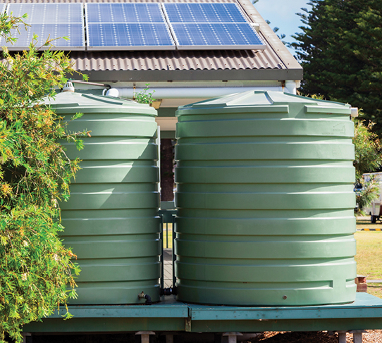 Water tanks & services