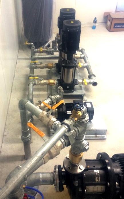 Grundfos Dairy Pump System
