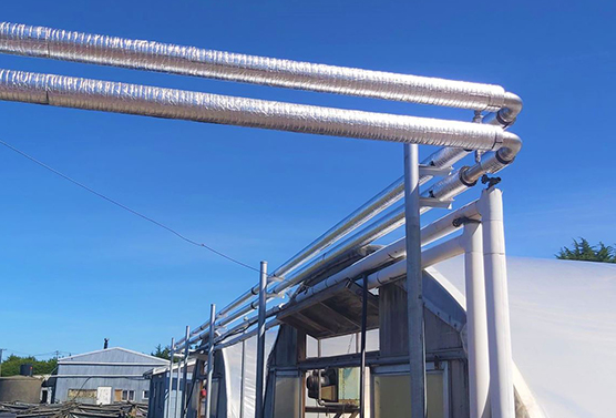 Europress Frost Protection System Pipeline