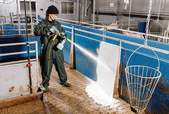 Disease Prevention is essential on farms