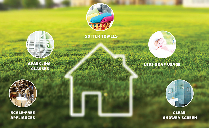 Achieve Softer water in your home