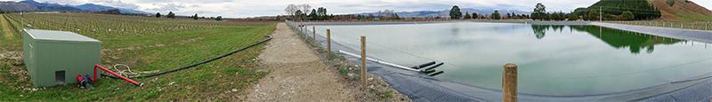 Dam level monitoring