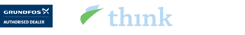 Grundfos Think Water Logo